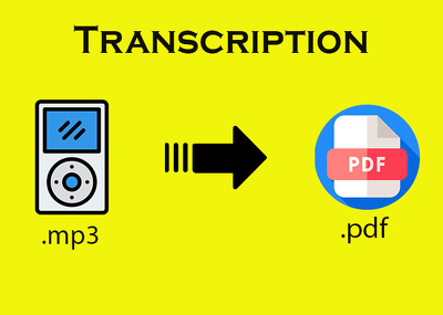 Transcript an English Audio file to text file