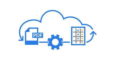 Enter PDF bank statements into Excel