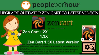 Upgrade old outdated zen-cart store with latest zen-cart version