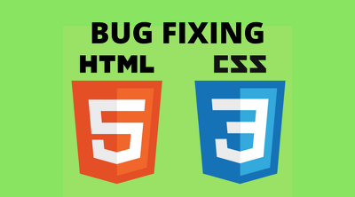Fix bugs in html css php codes