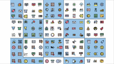 Create 10 custom icon design within 24 hours