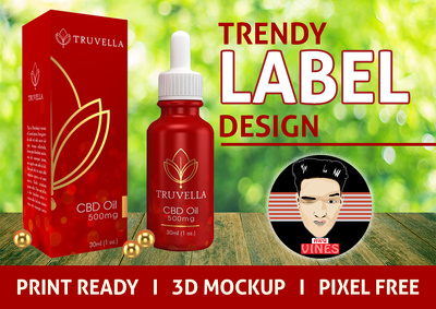 DESIGN A PREMIUM PRODUCT LABEL OR PACKAGING BOX