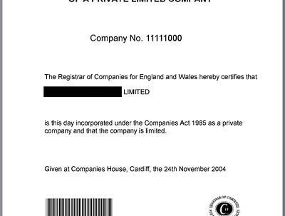 Register UK limited with England address for non resident