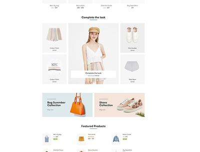 Design and Develop Professional WordPress E-Commerce website