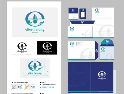 Design complete brand identity (logo + stationery)