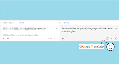 i can translate Chinese and English starting at $10