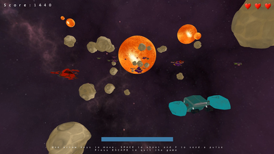 Create a 3D space shooter using C++ in one month