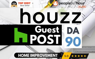 ★ Write & Publish a HIGH QUALITY blog on HOUZZ ★