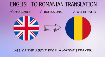 Translate your document from English to Romanian