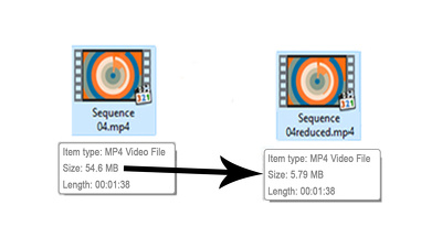 reduce your video size, change its format and resolution