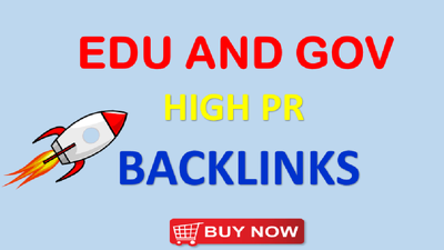 50 USA & UK .EDU .GOV PR9 High Domain Authority Backlinks