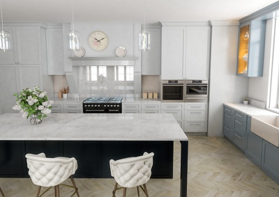 Make your 3D HIGH QUALITY Kitchen model  !