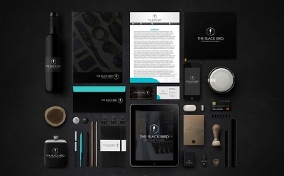Design corporate identity for your business and company