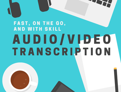 Transcribe 1 hour of audio or video content in 24 hours