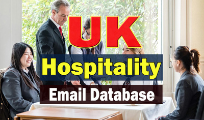 UK Hospitality Business Email Contact List