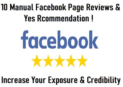 10 Five-star Facebook Rating/Reviews (Any Country)