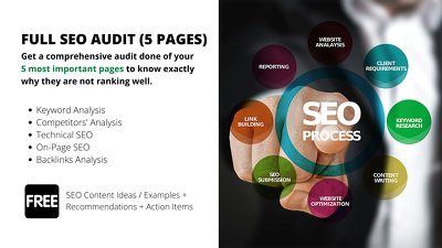 Bespoke Full SEO Audit Report (5 Pages)