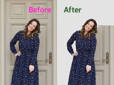 ✔Remove background  ✔Photoshop work ✔Free sample ✔100% satisfied