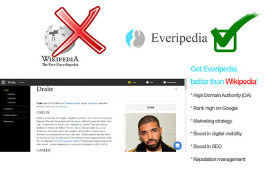 Publish an approved Everipedia Wiki page for a Hip-Hop Artist