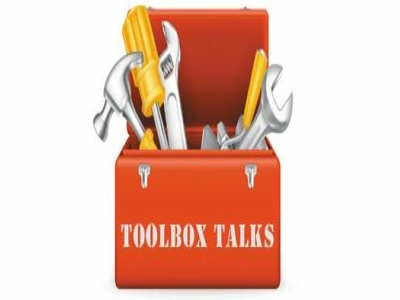 Provide health and safety toolbox talks