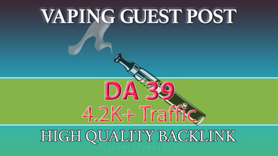Guest Post on DA 39 Vaping, Cannabis and Weed Site