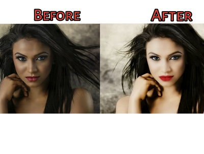 Professionally Retouch your images - 3 Photo