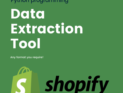 Shopify Product Data Extraction Tool