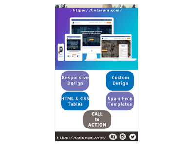 Develop HTML email Newsletter Templates for Marketing/campaign