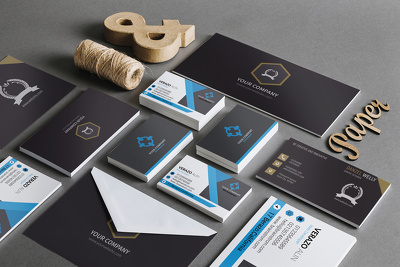 Design corporate identity for your business