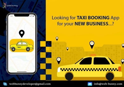 Develop Your creative and secure taxi booking application