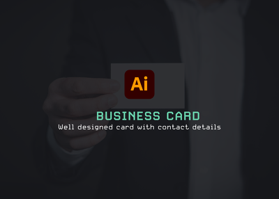 Design a business card using your branding