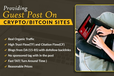 Providing Guest Post on Crypto/Bitcoin Sites