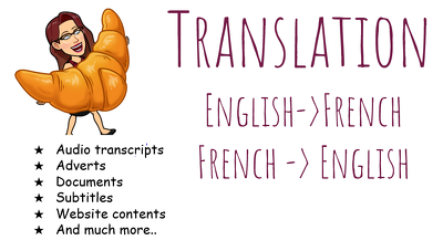 Translate 500 words from English to French & French to English.