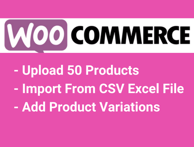 Add or Upload 50 Products in Woocommerce Shop or Store