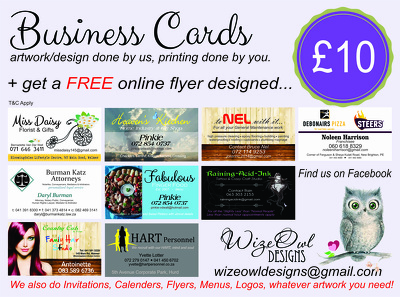 Design the perfect business card