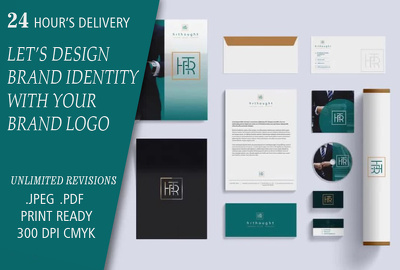 Design a brand identity to inhance your business.