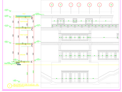 CAD Drawing interior and Architecture