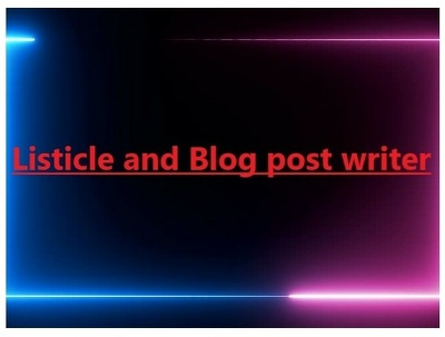 Write engaging Listicles and Blog posts