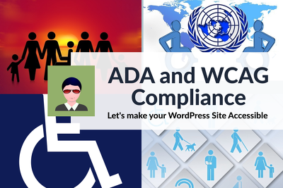 Help you with ADA and WCAG compliance