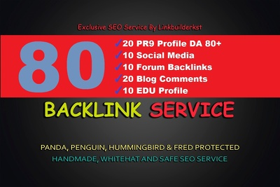 Do 5 Step 75 SEO Backlinks PR9, EDU, Forum, Social Media Links