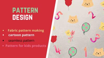 Design custom seamless patterns