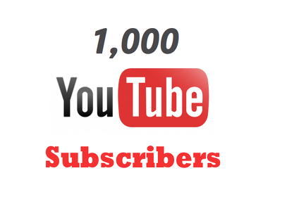 Add 1000 Real Youtube Subscribers! 100% Money Back Guarantee!