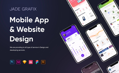 Design premium modern UI/UX design for your Mobile app and Web