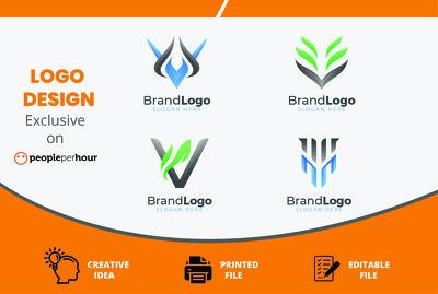 Design an exceptional logo + logo source files