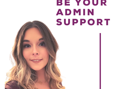 Be your admin support for 1 hour