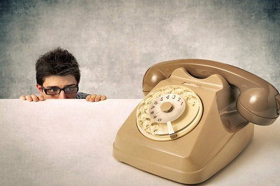 Telephone clients you are frightened to call UK