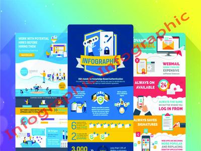 Design an eye catching info-graphic