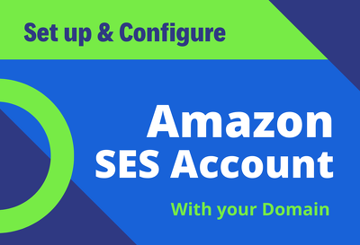Setup and configure amazon ses account with your domain