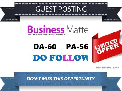 Guest Post On Business Magazine Blog Bmmagazine.co.uk DA60+
