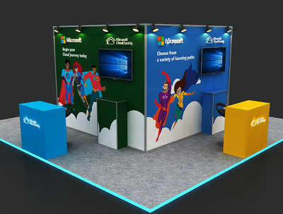 Design 3d products & booths